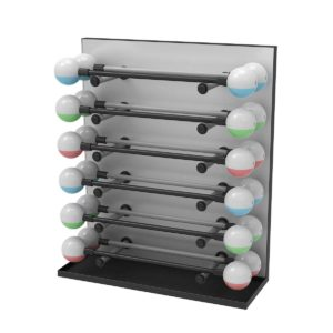Reax Fluipump Display Storage