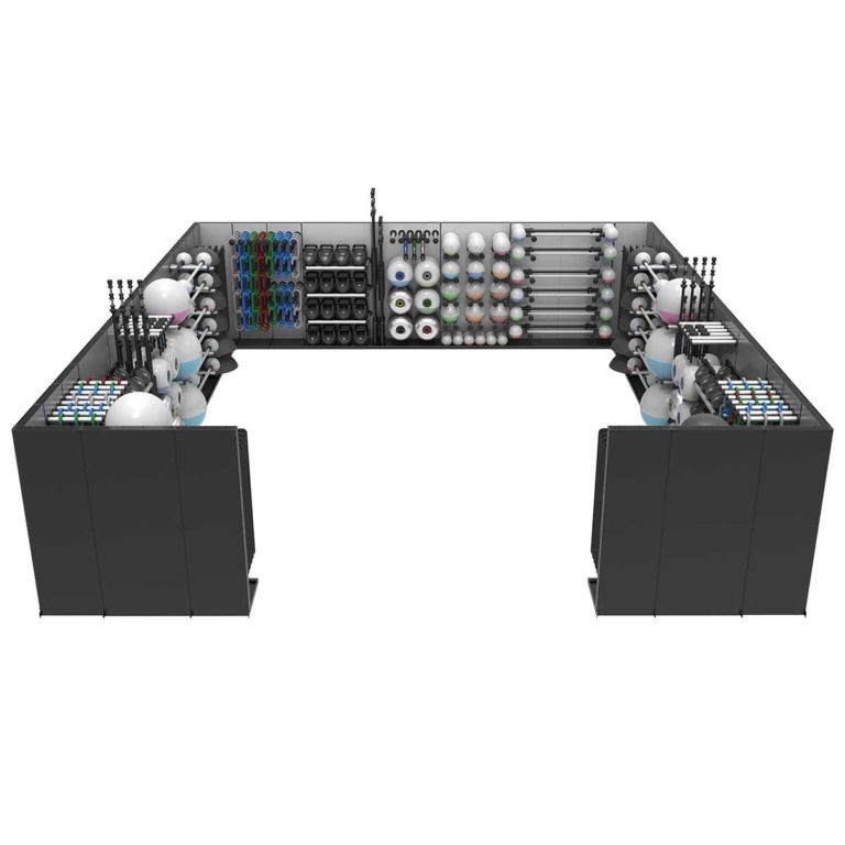 Reax Storage Room Configuration